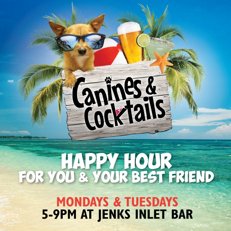 jenks inlet canines & cocktails